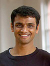 Headshot of K. Pattabhi Jois's grandson, Sharath Jois