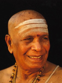 headshot of Sri K. Pattabhi Jois